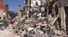 Česká pomoc po zemětřesení
