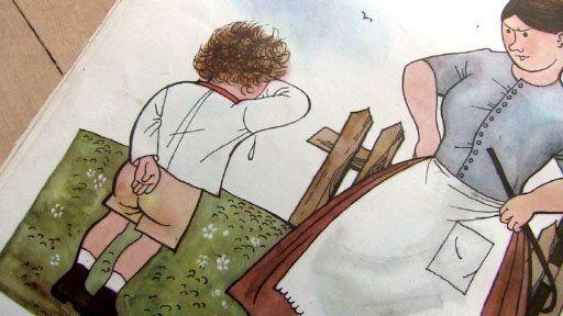 zakřivení sex naplácat na zadek