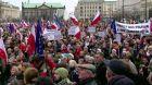 Polské protesty proti vládě