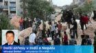 Další otřesy v Indii a Nepálu