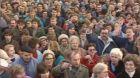 Veřejné shromáždění na podporu úsilí k odchodu vojsk (1990)