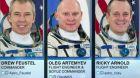Přistání části posádky ISS