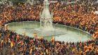 Desítky tisíc lidí v madridských ulicích