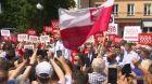 Politické napětí v Polsku