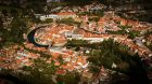 Český Krumlov - od řeky k nebesům