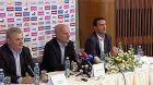 Tisková konference české fotbalové reprezentace