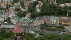 Karlovy Vary, sadové město