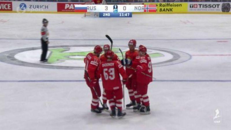 71d5d3639765f MS v ledním hokeji 2019 Slovensko: Rusko - Norsko — iVysílání ...