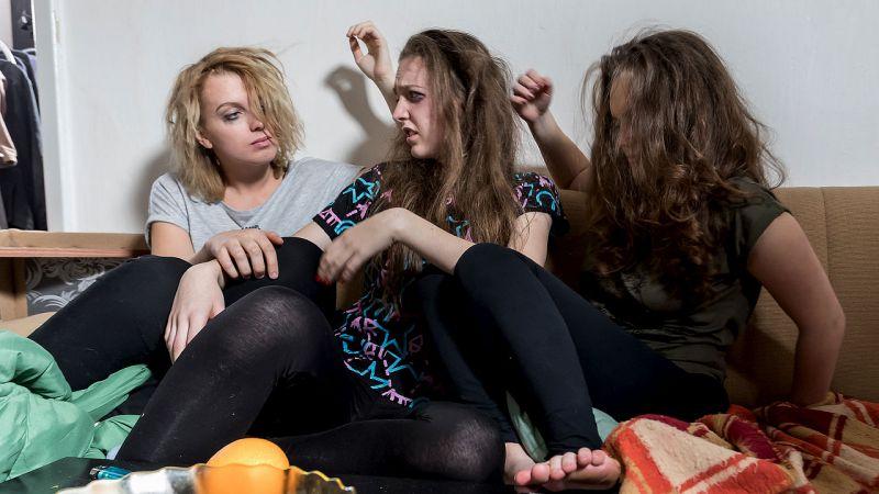 Asijské dospívající sex klip